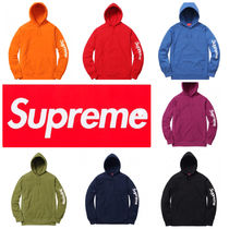 Supreme Sleeve Patch Hooded Sweatshirt 17SS シュプリーム