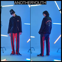 ANOTHERYOUTH(アナザーユース) Tシャツ・カットソー ★韓国の人気★ANOTHERYOUTH★zipper anorak-BLACK★UNISEX