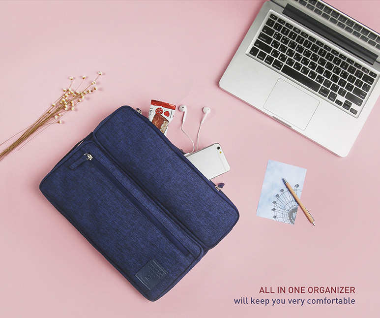 """◆monopoly◆ALL IN ONE ORGANIZER 13""""4色"""
