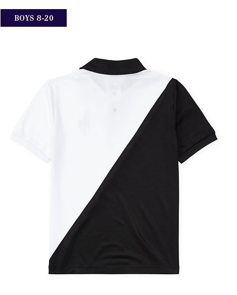 新作♪国内発送 TECH MESH POLO SHIRT  boys 8~20
