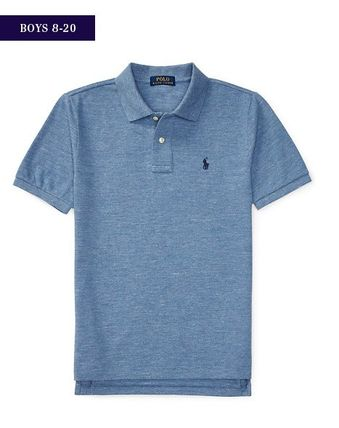 Ralph Lauren トップス 新作♪国内発送 4色 COTTON MESH POLO SHIRT  boys 8~20(3)