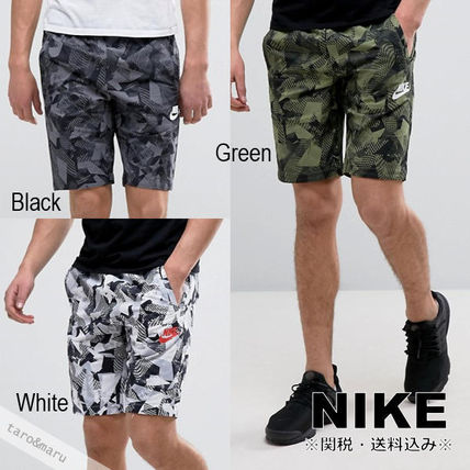 NIKE men's camouflage patterned shorts