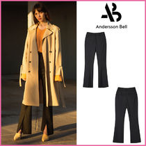 ANDERSSON BELL(アンダースンベル) パンツ 【ANDERSSON BELL】正規品★NAOMIフロントスリットパンツ/追跡付