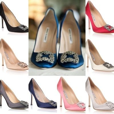 105 mm longing Manolo Hangisi pumps
