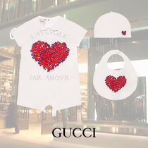 GUCCI Baby/コサージュ プリント 3ピースギフトセット