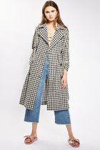 《とにかくお洒落♪》☆TOPSHOP☆Gingham Trench Coat