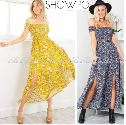 SHOIPO this summer off shoulder Maxi dress you want to have
