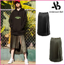 ANDERSSON BELL(アンダースンベル) スカート 【ANDERSSON BELL】正規品★スリットプリーツスカート2色/追跡付