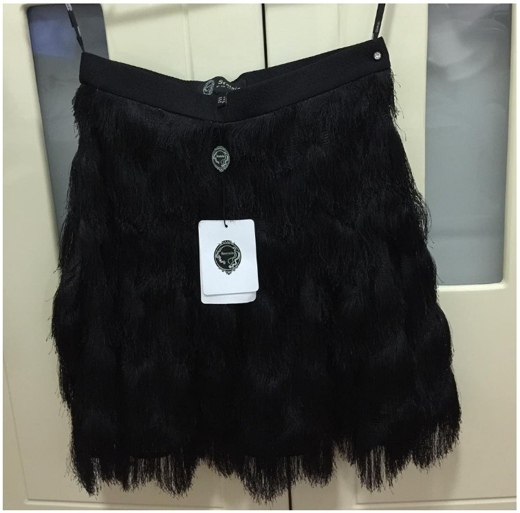 SRETSIS Fringe Skirt (US2) New!
