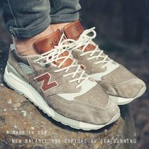 """New Balance Made in USA """"Explore by Sea"""" 998 キャンバス"""