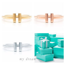 【Tiffany & Co】Tiffany T wire ring in gold (全3色)