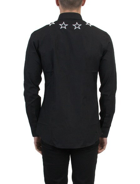 Givenchy ジバンシィ EMBROIDERED STARS シャツ