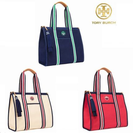 Time limited sale Tory Burch EMBROIDERED-T TOTE
