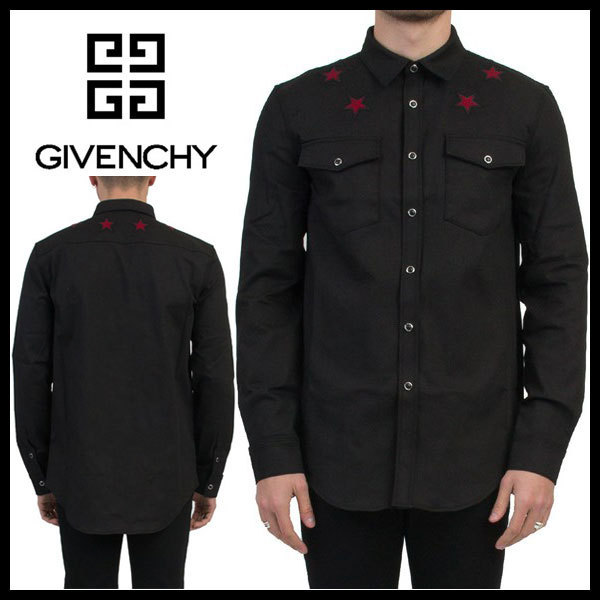 Givenchy ジバンシィ STAR EMBROIDERY シャツ