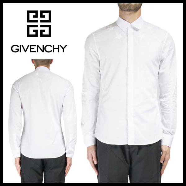 Givenchy ジバンシィ EMBROIDERED STAR シャツ