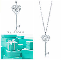 【Tiffany & Co】美しい♪Enchant Heart Key Pendant