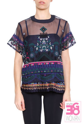 TRIBAL lace t-shirt