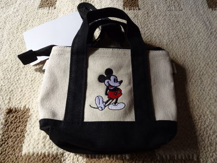 Purchase TDR Mickey canvas mini tote coin case