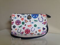 TORY BURCH  KERRINGTON CROSSBODY LUCK PRINT 希少!お買い得