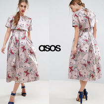 ★最短翌日発送★ASOS SALON Prom Dress with Crop Top Jacket