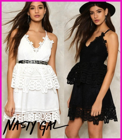 日本未入荷・新作☆NASTY GAL☆17SS MARIAH FIT & FLARE DRESS