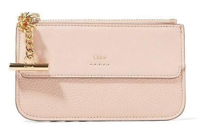 ★関税負担★CHLOE★JOE TEXTURED-LEATHER CARDHOLDER