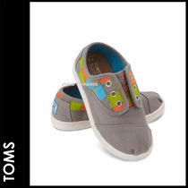 TOMS(トムス) ベビーシューズ・靴その他 ■SALE★3-7日着/追跡付【即発・TOMS】Grey Checkered Cordones