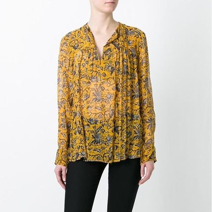 Floral chiffon blouse ISABEL MARANT ETOILE from FR34
