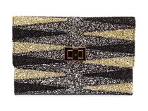 ANYA HINDMARCH クラッチバッグ a5050925778534 Silver Glitter