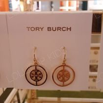 セール!Tory Burch★ DECO LOGO DROP EARRING : ピアス