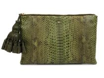 ANYA HINDMARCH クラッチバッグ a5050925846059f Olive Python