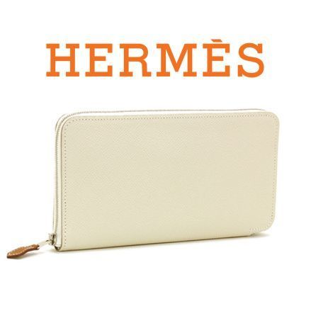 人気アイテム ☆HERMES☆ SILK'IN Long 長財布 CRAIE & FAUVE♪