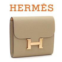 ☆HERMES☆ CONSTANCE Compact 財布 TRENCH & NATURAL SABLE♪