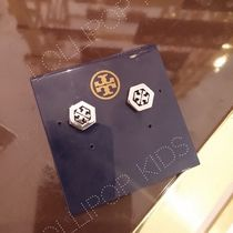 セール!Tory Burch★HEX LOGO STUD EARRING:ピアス