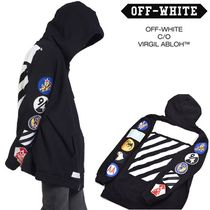 Off-White_正規品 C/O VIRGIL ABLOH BLACK PATCHES HOODIE