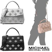 ☆MICHAEL Michael Kors☆Ava Jewel Small Top Handle Satchel