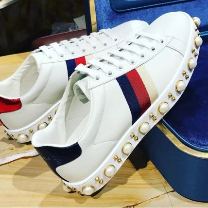 / popular roller sneakers gucci Pearl