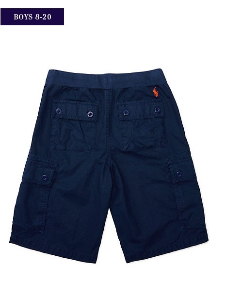 新作♪国内発送 4色 COTTON RIPSTOP UTILITY SHORT boys 8~20