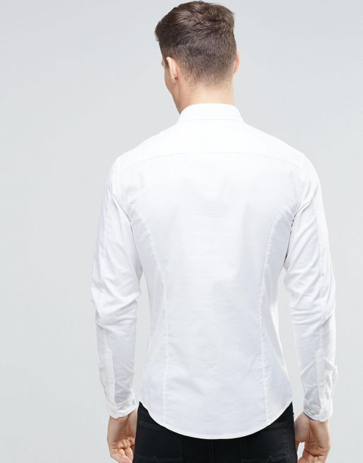 ★日本入荷★ ASOS Skinny Casual Oxford Shirt Wi 大人気シャツ
