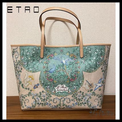 1-3 days from * ETRO * cute print tote bag