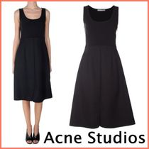 送料・税込★Acne Studios★Sam Crepe Black ドレス