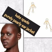 kate spade / ピアス / purely pearly ear jacket