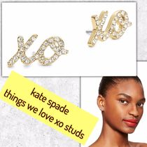 kate spade / ピアス / things we love xo studs