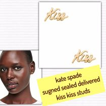 kate spade / ピアス/ signed sealed delivered kiss kiss studs