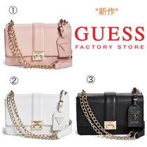 Guess Factory☆新作☆Aria チェーンショルダーバッグ(3色)