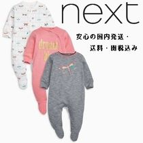 NEXT(ネクスト) パジャマ・ルームウェア・スリーパー Dragonfly Sleepsuits Three Pack (0 か月~2 歳)♪