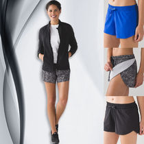 SALE!大人気ヨガブランド lululemon  Hit It Short