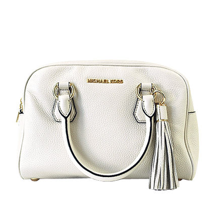 Michael Kors ハンドバッグ 【即発◆3-5日着】Michael Kors◆Medium Tassel Satchel ◆2way(11)