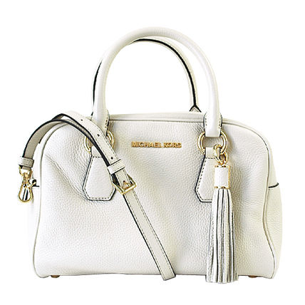 Michael Kors ハンドバッグ 【即発◆3-5日着】Michael Kors◆Medium Tassel Satchel ◆2way(12)