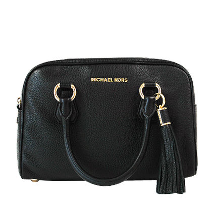 Michael Kors ハンドバッグ 【即発◆3-5日着】Michael Kors◆Medium Tassel Satchel ◆2way(6)